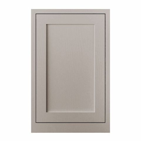Cooke & Lewis Carisbrooke Taupe Framed Tall Standard Door (W)600mm