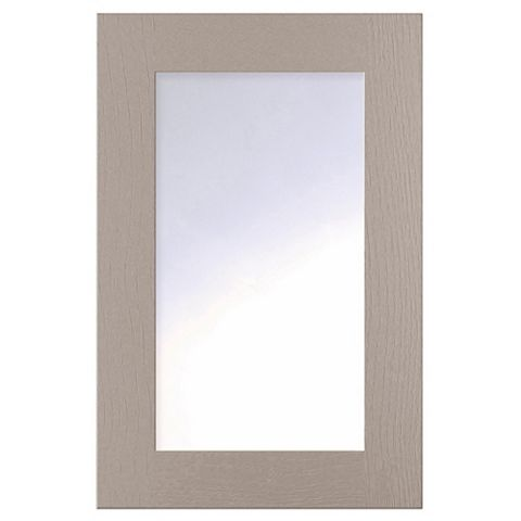 Cooke & Lewis Carisbrooke Taupe Framed Glazed Door (W)500mm