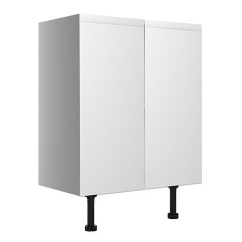 Cooke & Lewis Marletti Gloss White Base Cabinet