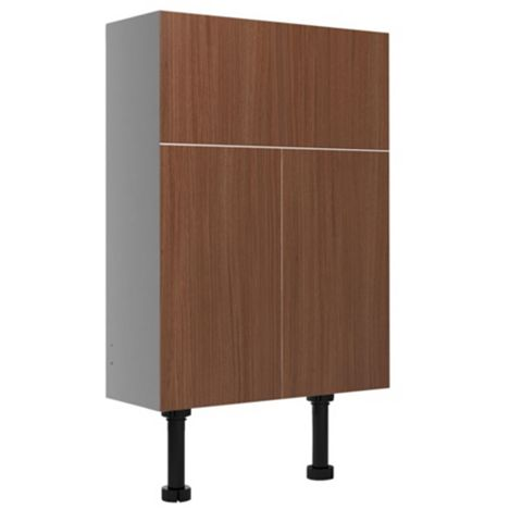 Cooke & Lewis Antero Brown Basin Cabinet (H)672-852mm (W)600mm