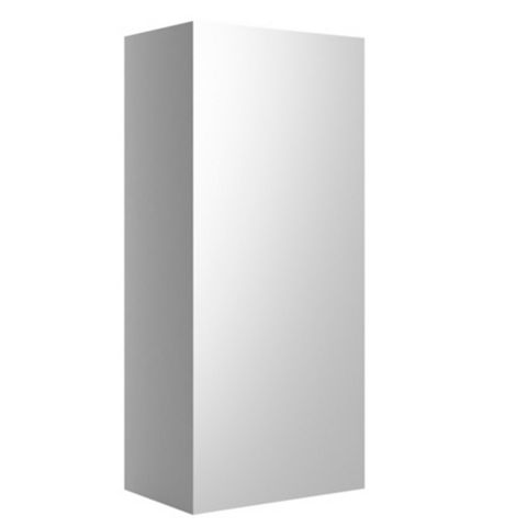 Cooke & Lewis Santini Gloss White Single Door Wall Cabinet