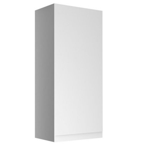 Cooke & Lewis Marletti Gloss White Single Door Wall Cabinet