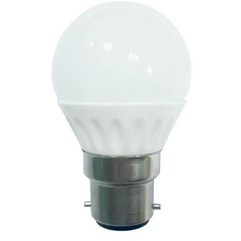 Diall Bayonet Cap (B22) 3W LED Round Light Bulb