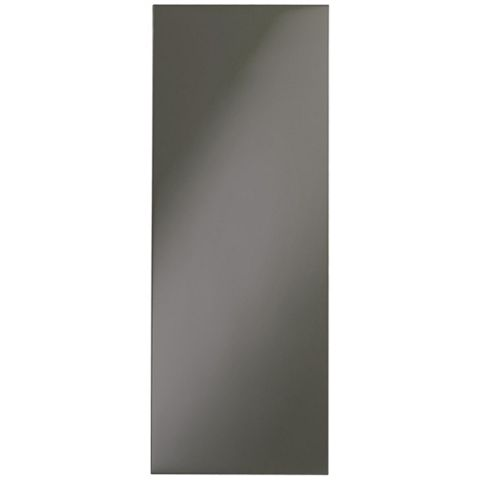 IT Kitchens Santini Gloss Anthracite Slab Tall Wall End Panel, 290 x 900mm
