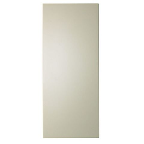 IT Kitchens Santini Gloss Cream Slab Tall Standard Door (W)300mm