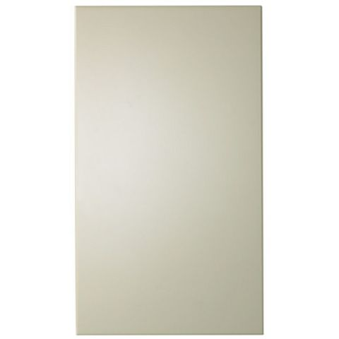 IT Kitchens Santini Gloss Cream Slab Tall Standard Door (W)400mm