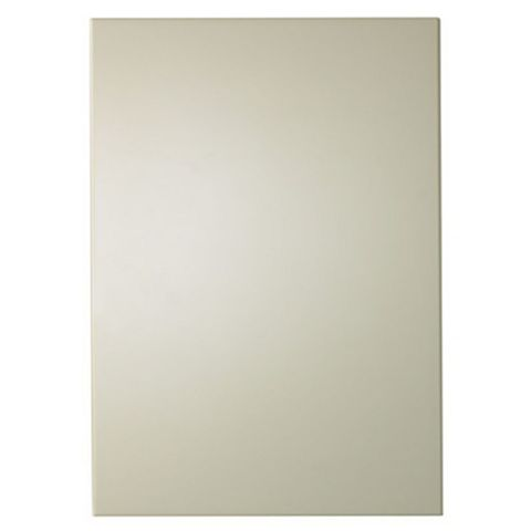IT Kitchens Santini Gloss Cream Slab Tall Standard Door (W)500mm