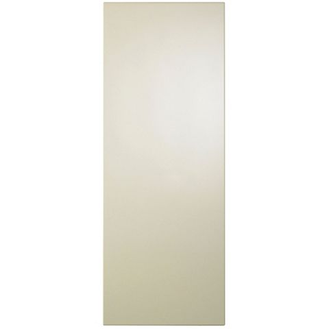 IT Kitchens Gloss Cream Slab Tall Wall End Panel, 290 x 900mm