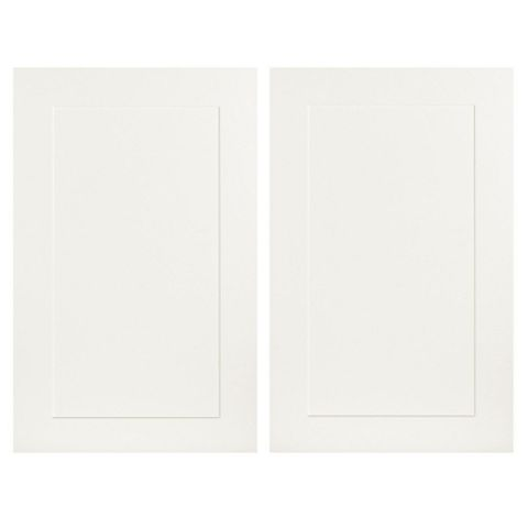 IT Kitchens Stonefield Ivory Classic Style Tall Larder Door (W)600mm, Set of 2