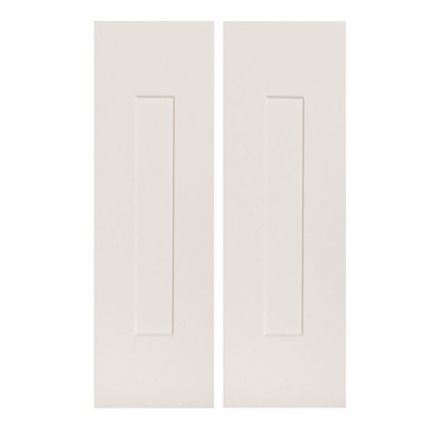 IT Kitchens Stonefield Ivory Classic Style Tall Corner Wall Door (W)625mm, Set of 2
