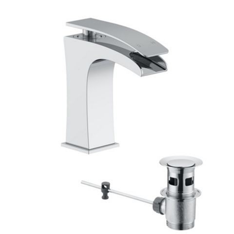 Cooke & Lewis Waterfall 1 Lever Basin Mixer Tap