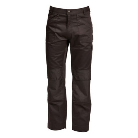 Rigour Multi-Pocket Black Trousers (Waist)38