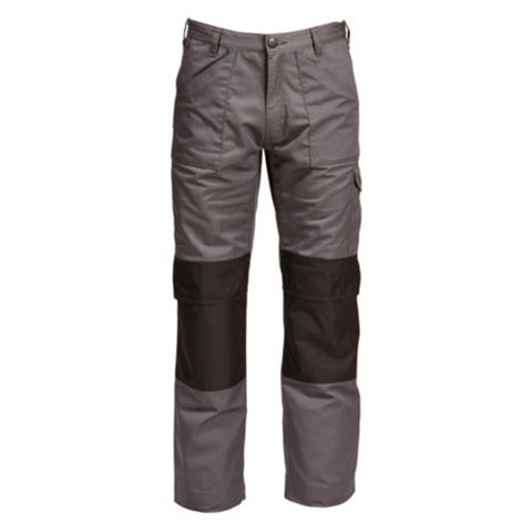 Rigour Multi-Pocket Grey Trousers (Waist)36