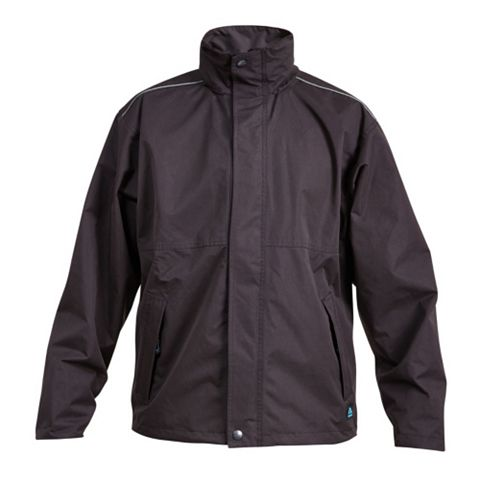 Rigour Black Waterproof Work Jacket Large