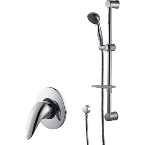 Cooke & Lewis Wave Chrome Single Lever Mixer Shower