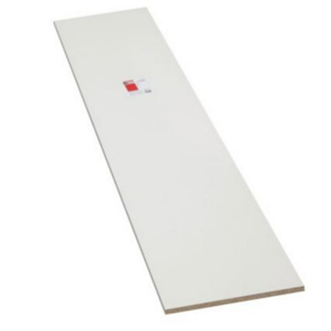 Diall Furniture Panel White Gloss (L)2440mm (W)300mm (T)18mm