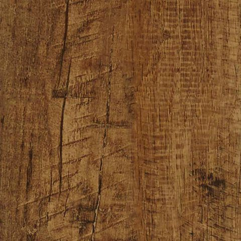 Colours Self Adhesive Brown Rustic Oak Effect Vinyl Plank 0.97 m² Pack