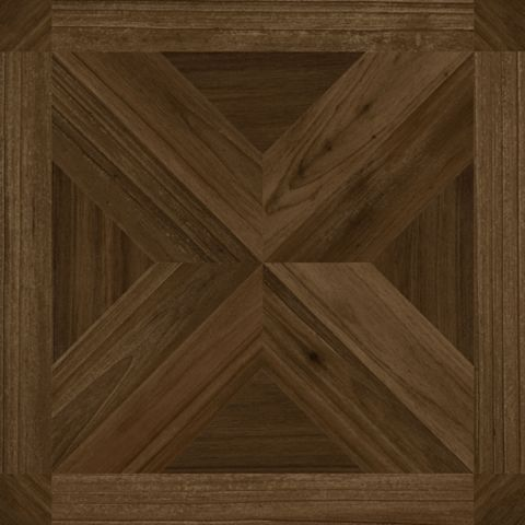Colours Traditional Dark Parquet Effect Self Adhesive Vinyl Tile Pack 1.02 m²