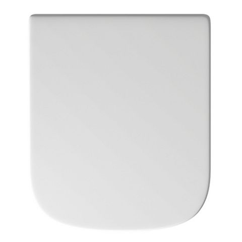 Cooke & Lewis Caldaro White Soft Close Toilet Seat