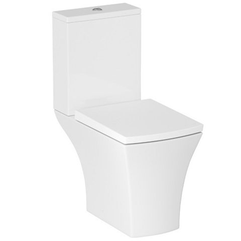 Cooke & Lewis Carapelle Close-Coupled Toilet with Soft Close Seat