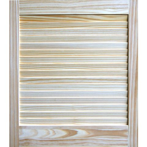 Closed Louvre Pine Internal Door, (H)610mm (W)533mm