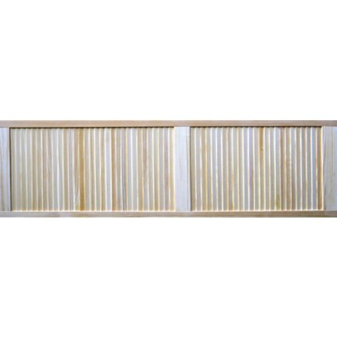 Closed Louvre Pine Internal Door, (H)1829mm (W)533mm