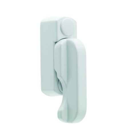 Geom White Security Sash Block