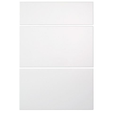 IT Kitchens Sandford Ivory Style Slab Drawer Front (W)500mm, Set of 3