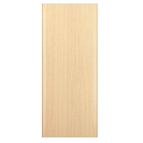 IT Kitchens Sandford Textured Oak Effect Slab Standard Door (W)300mm