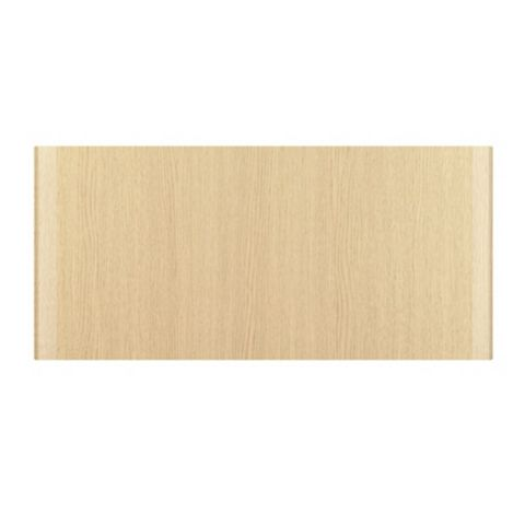 IT Kitchens Sandford Textured Oak Effect Slab Bridging Door (W)600mm