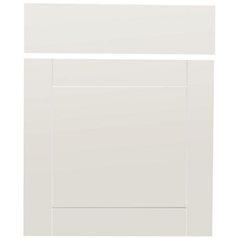 IT Kitchens Westleigh Ivory Style Shaker Drawer Line Door & Drawer Front (W)600mm, Set of 1 Door & 1 Drawer Pack