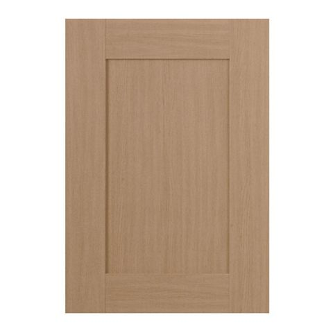 IT Kitchens Westleigh Textured Oak Effect Shaker Standard Door (W)500mm