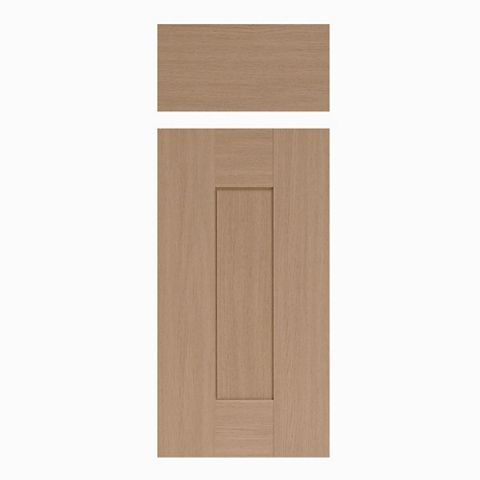 IT Kitchens Westleigh Textured Oak Effect Shaker Drawer Line Door & Drawer Front (W)300mm, Set of 1 Door & 1 Drawer Pack