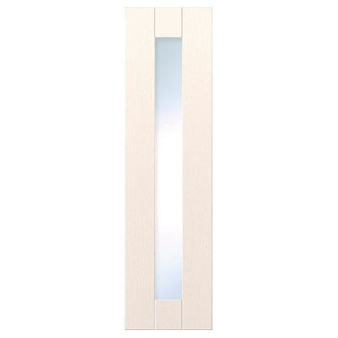 IT Kitchens Brookfield Textured Ivory Style Shaker Glazed Door (W)300mm