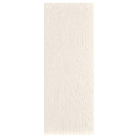IT Kitchens Brookfield Textured Ivory Style Shaker Clad-On Tall Wall Panel, 385 x 970mm