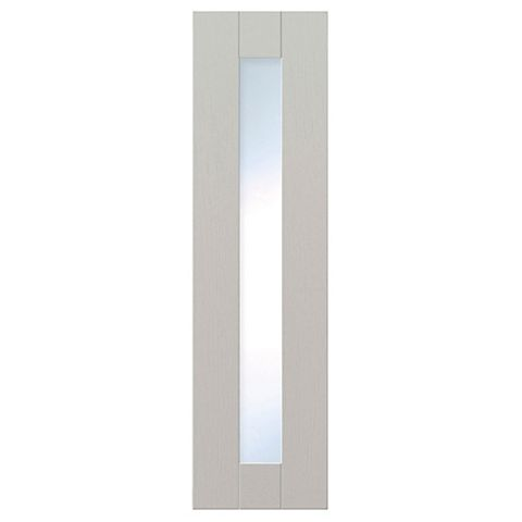 IT Kitchens Brookfield Textured Mussel Style Shaker Glazed Door (W)300mm