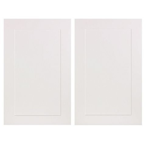 IT Kitchens Stonefield Stone Classic Style Larder Door (W)600mm, Set of 2