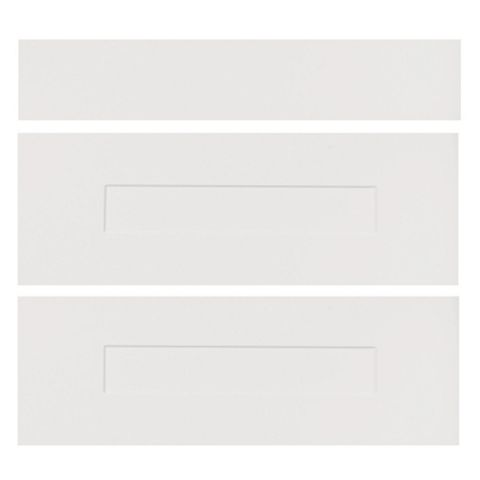 IT Kitchens Stonefield Stone Classic Style Pan Drawer Front (W)800mm, Set of 3