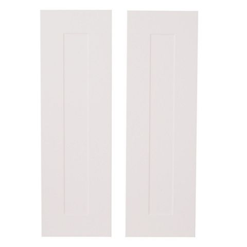 IT Kitchens Stonefield Stone Classic Style Larder Door (W)300mm, Set of 2