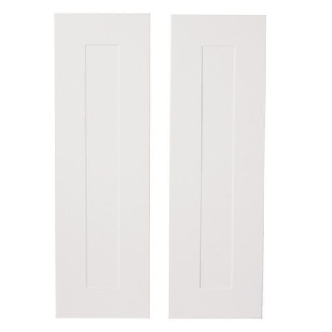 IT Kitchens Stonefield Stone Classic Style Tall Larder Door (W)300mm, Set of 2