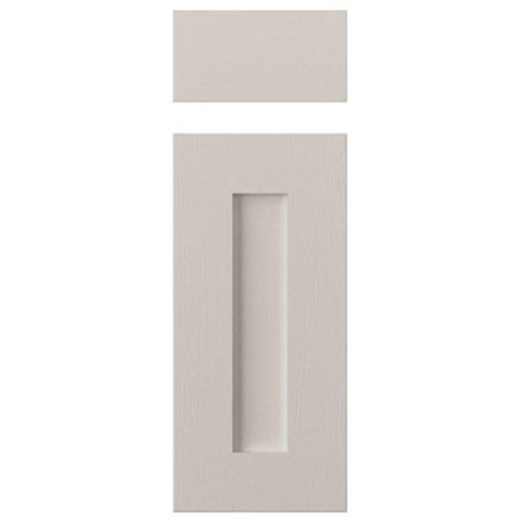 Cooke & Lewis Carisbrooke Cashmere Drawerline Door & Drawer Front (W)300mm, Set of 1 Door & 1 Drawer Pack