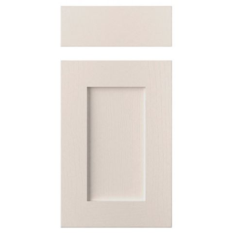 Cooke & Lewis Carisbrooke Cashmere Drawerline Door & Drawer Front (W)400mm, Set of 1 Door & 1 Drawer Pack