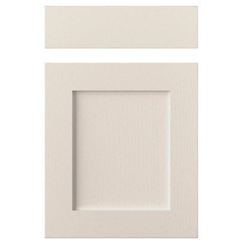 Cooke & Lewis Carisbrooke Cashmere Drawerline Door & Drawer Front (W)500mm, Set of 1 Door & 1 Drawer Pack