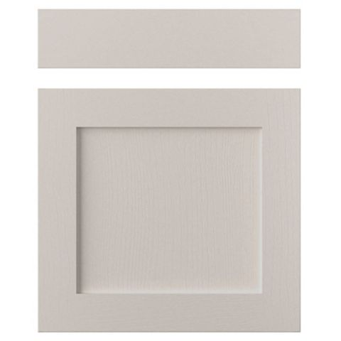 Cooke & Lewis Carisbrooke Cashmere Drawerline Door & Drawer Front (W)600mm, Set of 1 Door & 1 Drawer Pack