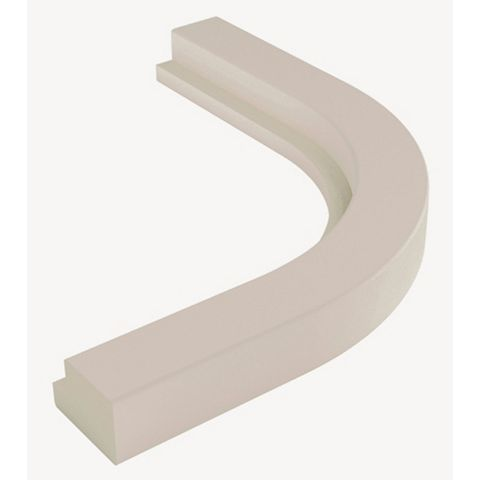 Cooke & Lewis Textured Cashmere Curved External Cornice/Pelmet
