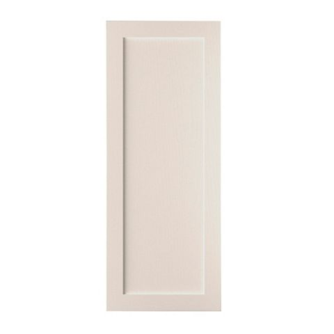 Cooke & Lewis Carisbrooke Cashmere Tall Fridge Freezer Door (W)600mm