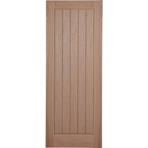 Cottage Panelled Pre-Finished Internal Unglazed Door, (H)1981mm (W)686mm