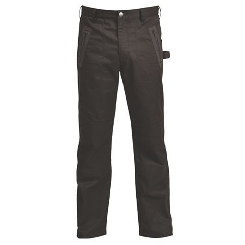 Rigour Black Work Trousers (Waist)32