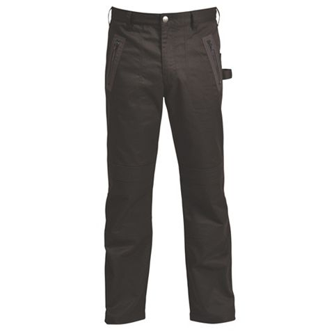 Rigour Black Work Trousers (Waist)36