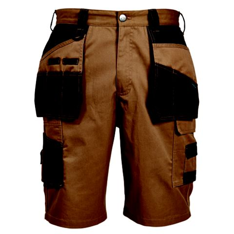 Rigour Brown Holster Pocket Shorts W32